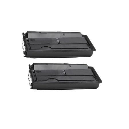 TK-7107 Black Remanufactured Toners Twin Pack