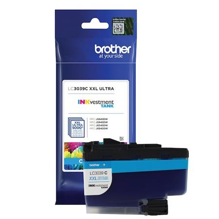 Brother LC3039C Cyan Original Ultra High Capacity Ink Cartridge