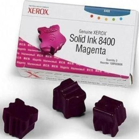 Xerox 108R00606 Original Magenta Ink Sticks (Pack of 3)-USA Made