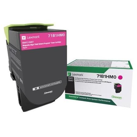 Lexmark 71B1HM0 Magenta Original High Yield Return Program Toner Cartridge