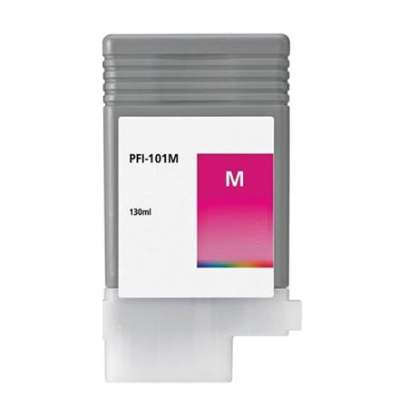 Compatible Magenta Canon PFI-101M Ink Cartridge (Replaces Canon 0885B001AA)