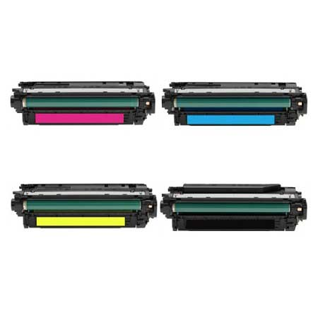 646X/646A Full Set Remanufactured Toner Cartridges