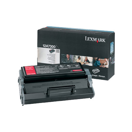Lexmark 12A7300 Original Black Print Cartridge
