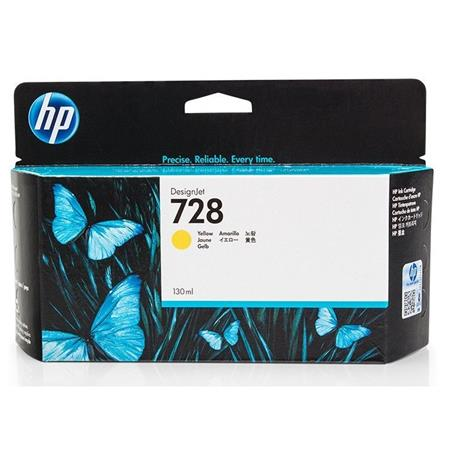HP 728 (F9J65A) Yellow Original High Capacity Ink Cartridge