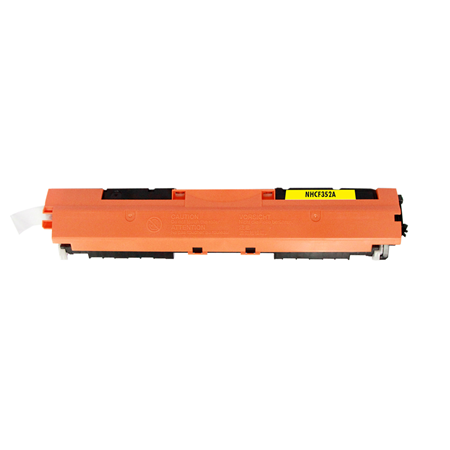 HP 130A Yellow Remanufactured Toner Cartridge (CF352A)