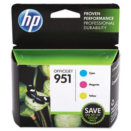 HP 951 (CR314FN) Color Original Officejet Ink Cartridge Combo Pack