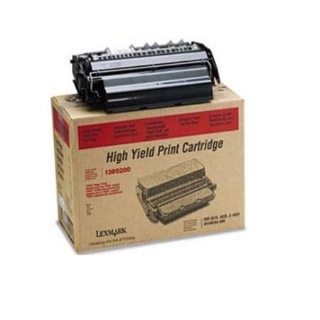 Lexmark 1380200 Original Black High Yield Toner Cartridge