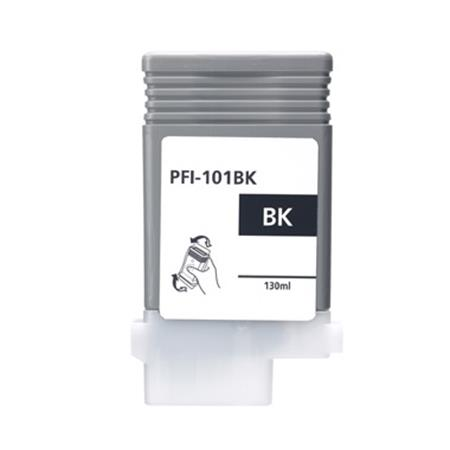 Canon PFI-101BK Black Remanufactured Ink Cartridge