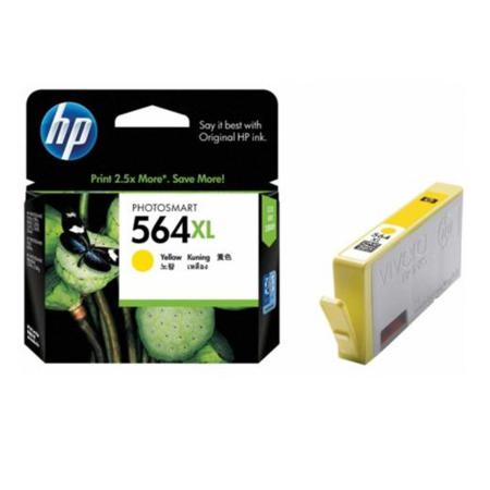 HP 564XL Yellow Original High Capacity Inkjet Cartridge