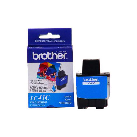 Brother LC41C Cyan Original Print Cartridge