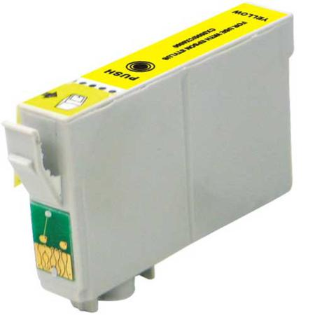Epson T0684 (T068420) Yellow High Capacity Remanufactured Cartridge