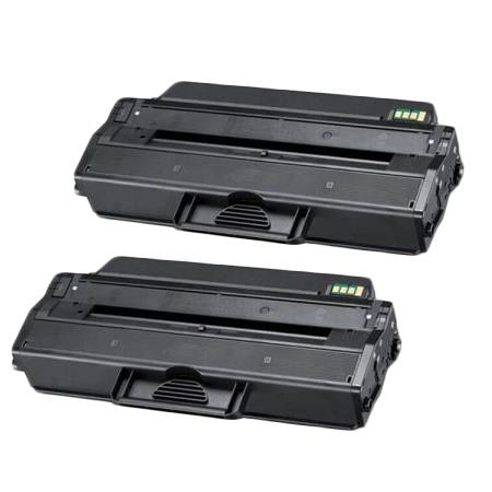 Compatible Twin Pack Black Dell 331-7328 Toner Cartridges