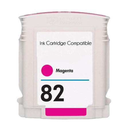 HP 82 Remanufactured Magenta Inkjet Cartridge (C4912A)