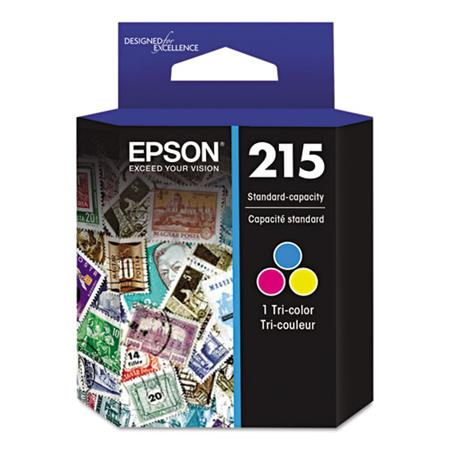 Epson 215 (T215530) Tri-Color Original Standard Capacity Ink Cartridge