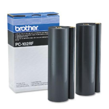 Brother PC102RF Original Ribbon Refills (2 Pack)