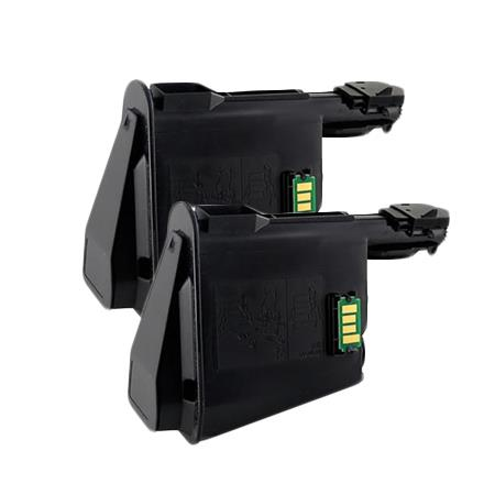 Compatible Twin Pack Black Kyocera TK-1112K Toner Cartridges