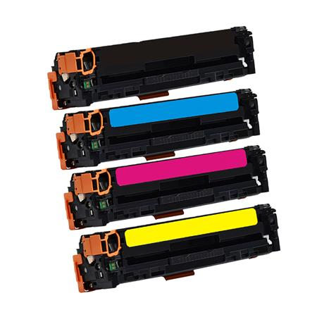 Clickinks 410A Full Set Remanufactured Toner Cartridges