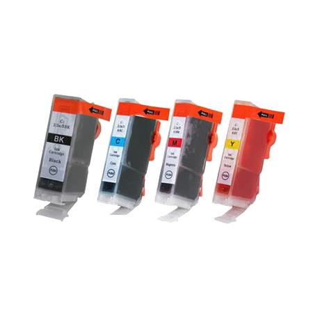 Clickinks BCI-3e BK/C/M/Y Full Set Compatible Inks