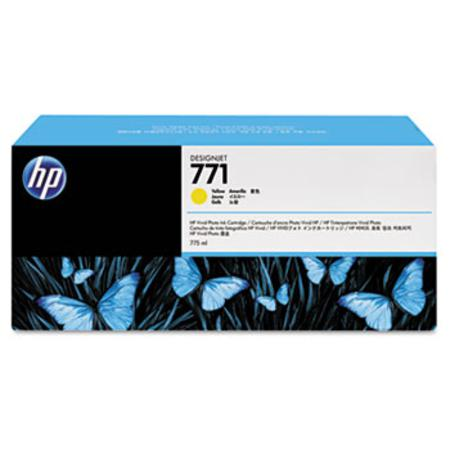 HP 771 (CR253A) Original Yellow Inkjet Cartridge - 3  PACK