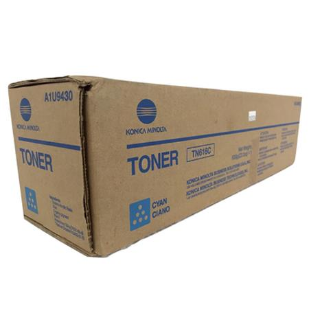 Konica Minolta TN616C Cyan Original Toner Cartridge (A1U9433)