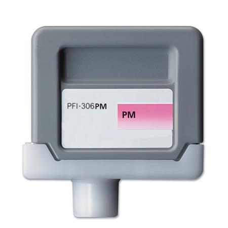 Compatible PhotoMagenta Canon PFI-306PM Ink Cartridge (Replaces Canon 6662B001AA)