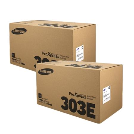 Samsung MLT-D303E Black Original Toner Cartridge Twin Pack