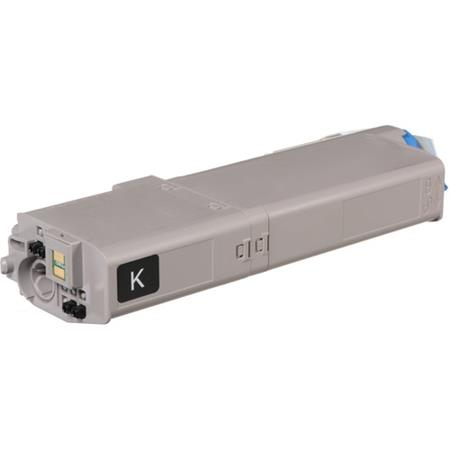 OKI 46490604 Black Remanufactured High Capacity Toner Cartridge