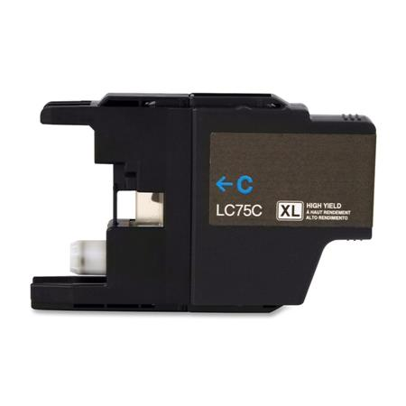 Brother LC75C Compatible High Yield Cyan Cartridge