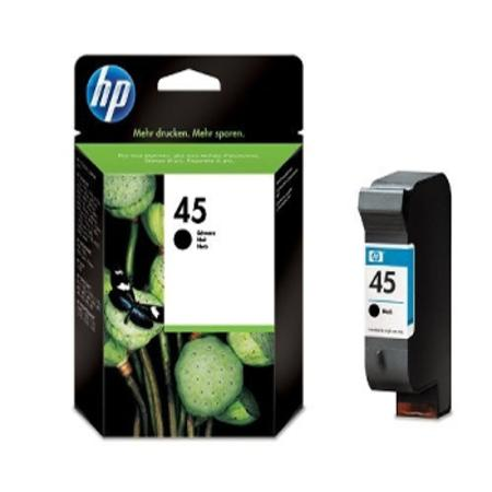 HP 45 Black Original Inkjet Print Cartridge (51645A)