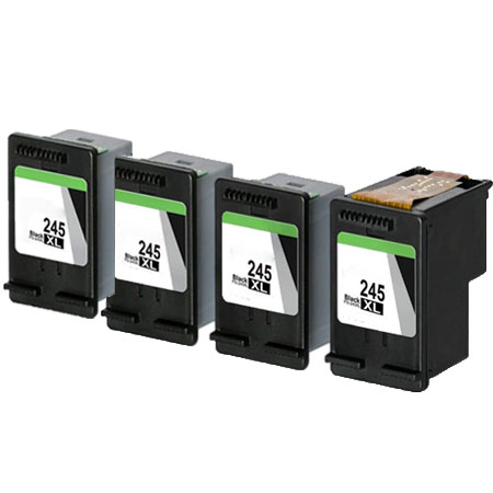 Compatible Black Canon PG-245XL Ink Multipack (Replaces 4 x 8278B001 + 1 x Printhead)