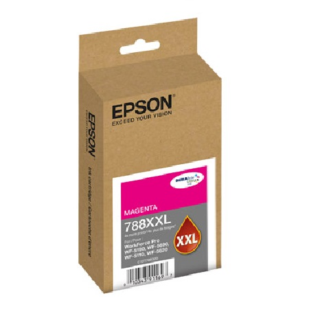 Epson 788XXL Magenta Original Extra High-Capacity Ink Cartridge