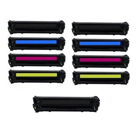 128A 2 Full set + 1 EXTRA Black Remanufactured Toner Cartridge