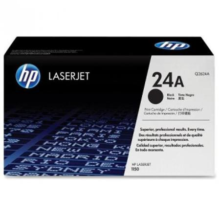 HP LaserJet 24X (Q2624X) Black Original High Capacity Print Cartridge with Ultraprecise Technology