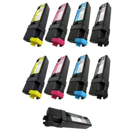 Clickinks 330-1433/36/37/88 2 Full Set + 1 EXTRA Remanufactured Toners