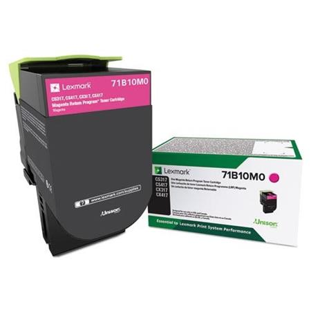 Lexmark 71B10M0 Magenta Original Standard Yield Return Program Toner Cartridge