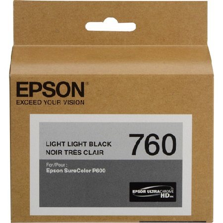 Epson T760920 Light Light Black Ink Cartridge