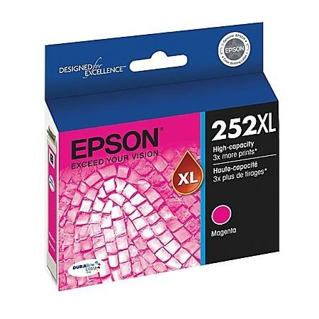 Epson T252XL Magenta Original High Yield Ink Cartridge (T252XL320)