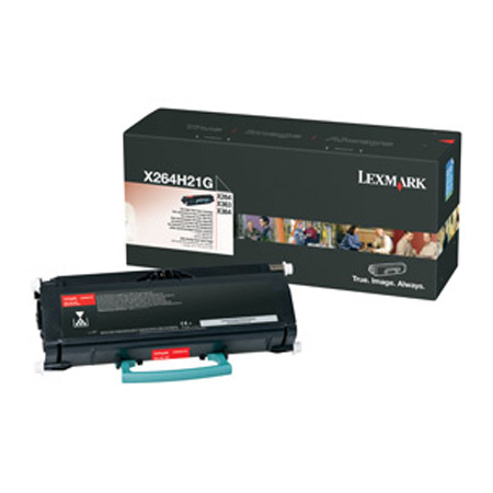 Lexmark X264H21G Black Original High Yield Toner Cartridge