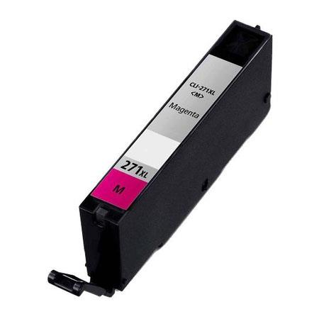 Compatible Magenta Canon CLI-271XLM Ink Cartridge (Replaces Canon 0338C001)