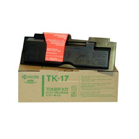 Kyocera Mita TK-17 Black Original Toner Cartridge