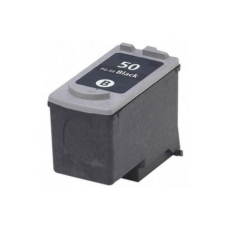 Compatible Black Canon PG-50 Ink Cartridge (Replaces Canon 0616B001)