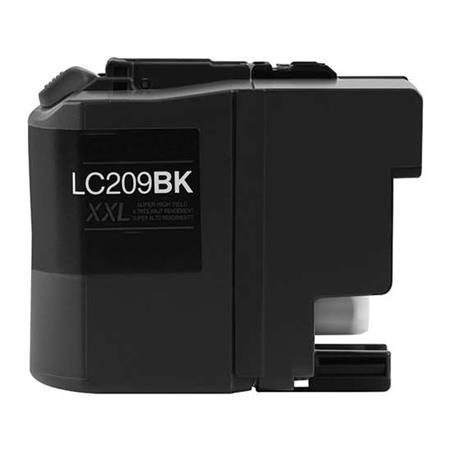 Brother LC209BK Black Compatible Super High Capacity Ink Cartridge