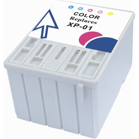 Epson T001 (T001011) 5 Color Remanufactured Ink Cartridge