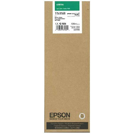 Epson T636B (T636B00) Original Green Ink Cartridge