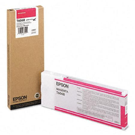 Epson T606B Original Magenta Ink Cartridge