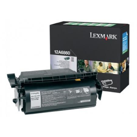 Lexmark 12A6860 Original Black Toner Cartridge