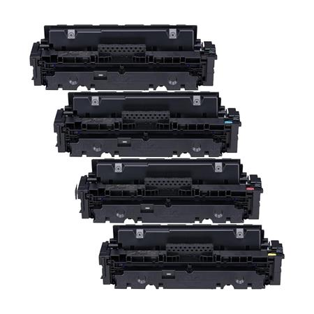 Canon 046HBK/HY Full Set Remanufactured High Capacity Toner Cartridges