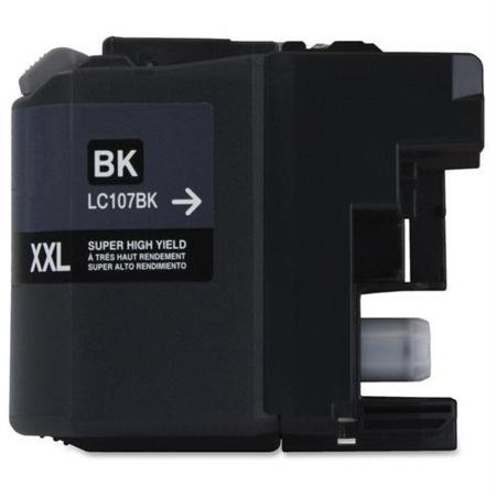Compatible Black Brother LC107BK Extra High Yield Ink Cartridge - SPECIAL PRICE
