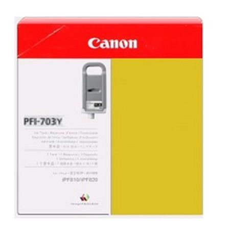 Canon PFI-703Y Original Yellow Ink Cartridge