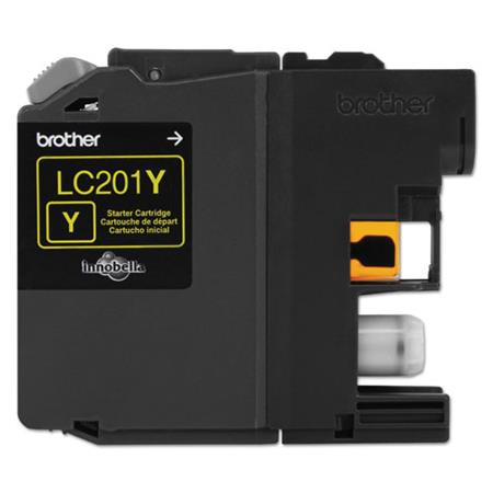 Brother LC201Y Yellow Original Standard Capacity Ink Cartridges